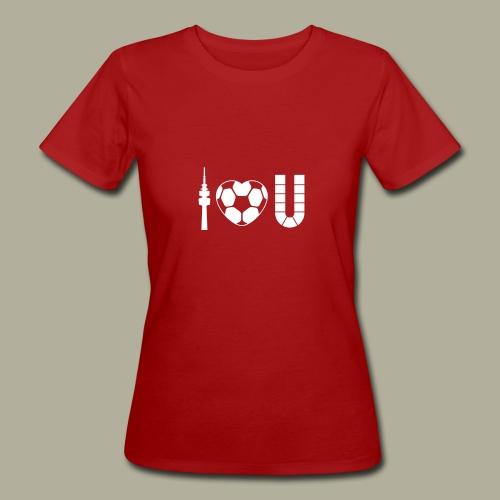 Dortmund I Love U - Frauen Bio-T-Shirt