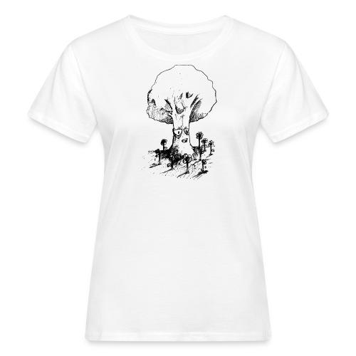 Sage Tree - Women's Organic T-Shirt