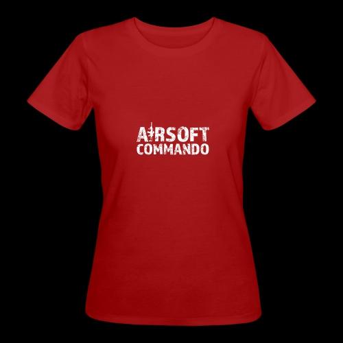 Airsoft Commando - Frauen Bio-T-Shirt