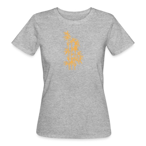 Giallo Dafne 01 - T-shirt ecologica da donna