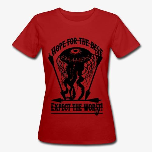Hope the Best - Frauen Bio-T-Shirt