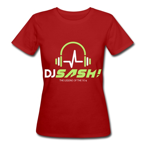 DJ SASH! - Headfone Beep - Women's Organic T-Shirt