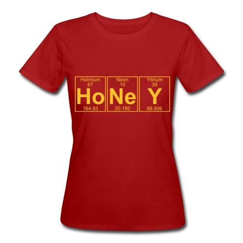 Ho-Ne-Y (honey) - Full - Women's Organic T-Shirt