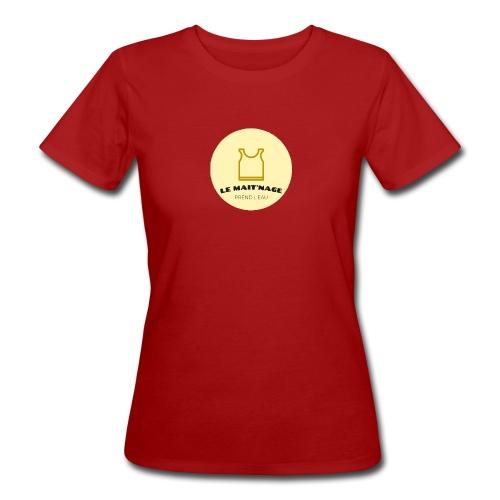 le Mait'Nage prend l'eau - T-shirt bio Femme