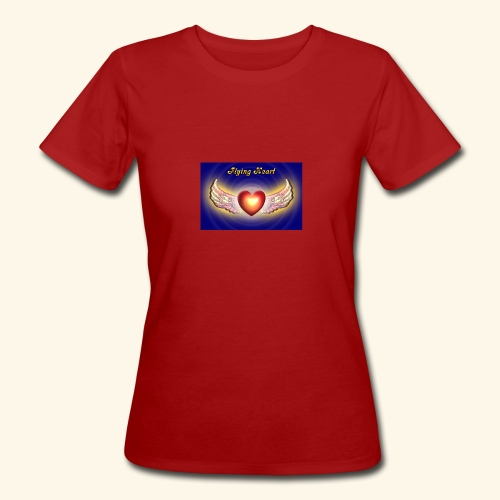 Flying Heart - Frauen Bio-T-Shirt