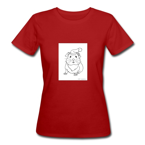 Hamster petite souris blanche guinea - T-shirt bio Femme