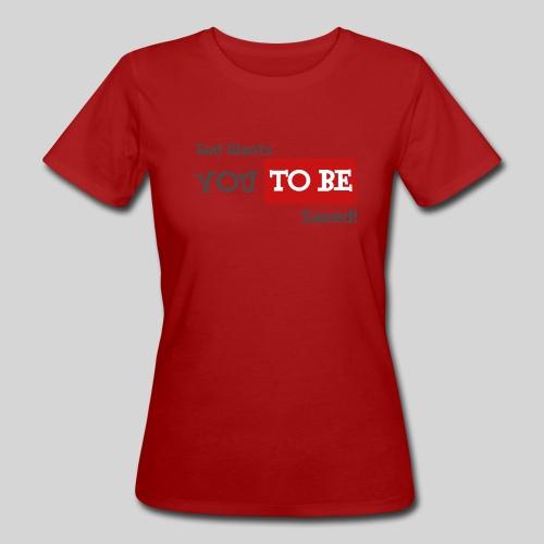 God wants you to be saved Johannes 3,16 - Frauen Bio-T-Shirt