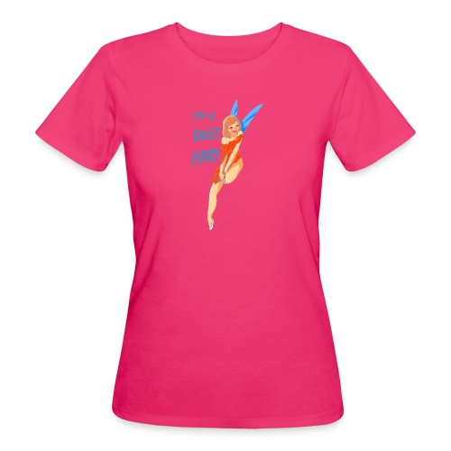 Sweet Fairy - T-shirt ecologica da donna