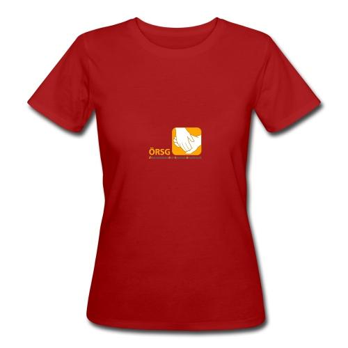 Logo der ÖRSG - Rett Syndrom Österreich - Frauen Bio-T-Shirt