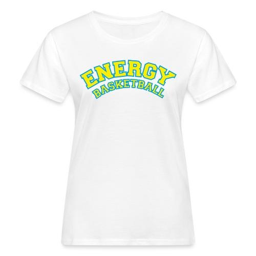 eco logo energy basketball giallo - T-shirt ecologica da donna