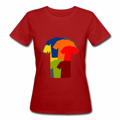 T-Shirts im T-Shirt - Frauen Bio-T-Shirt