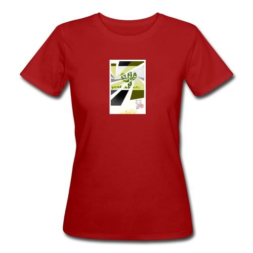 3D kaptus - Ekologisk T-shirt dam