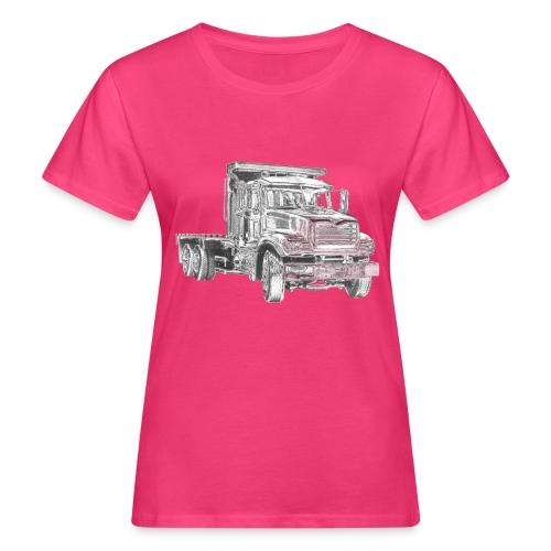 Flatbed Truck 3-axle - Women's Organic T-Shirt