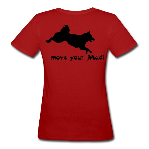 moyomu black - Women's Organic T-Shirt