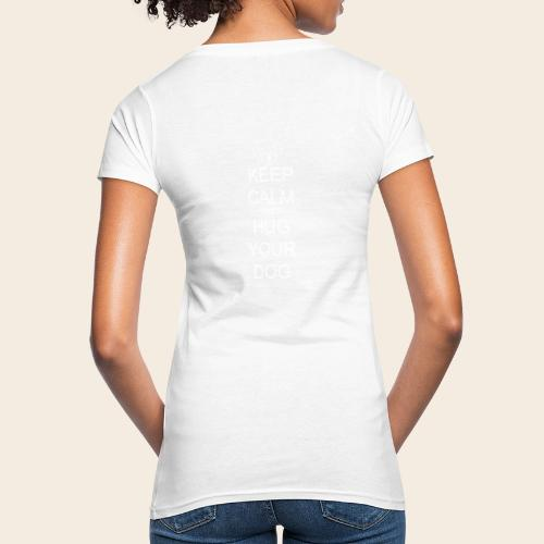 embrasse ton chien - T-shirt bio Femme