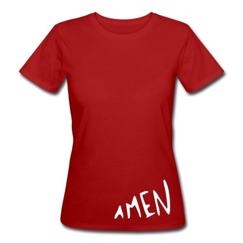 AMEN - Frauen Bio-T-Shirt