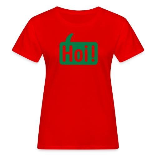 hoi front - Vrouwen Bio-T-shirt