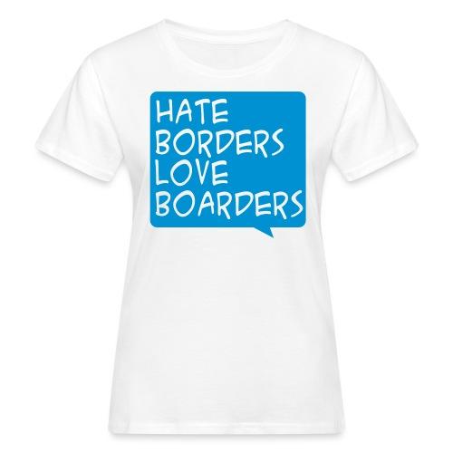 hatelove - Frauen Bio-T-Shirt