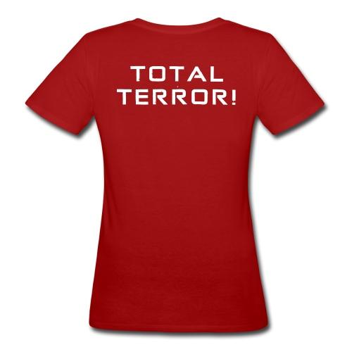 White Negant logo + TOTAL TERROR! - Organic damer