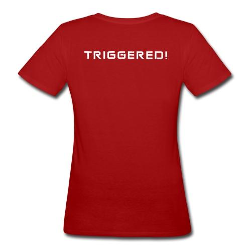 White Negant logo + TRIGGERED! - Organic damer