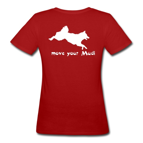 move your mudi - Women's Organic T-Shirt