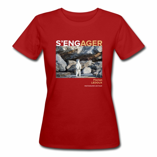 1 Achat = 1 Don à l'association Greenland Trees - T-shirt bio Femme