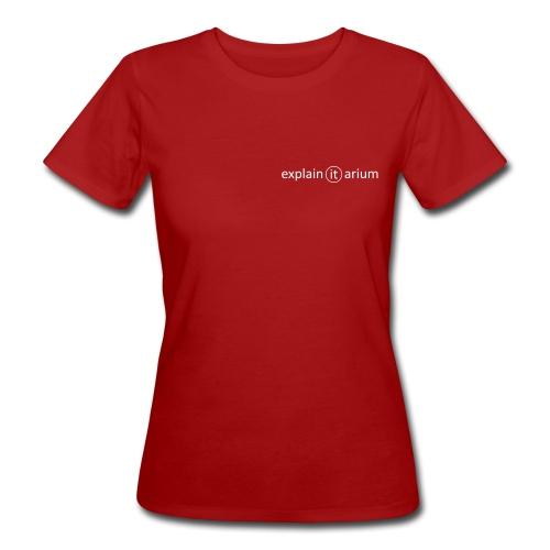 explain-it-arium-circle - Frauen Bio-T-Shirt