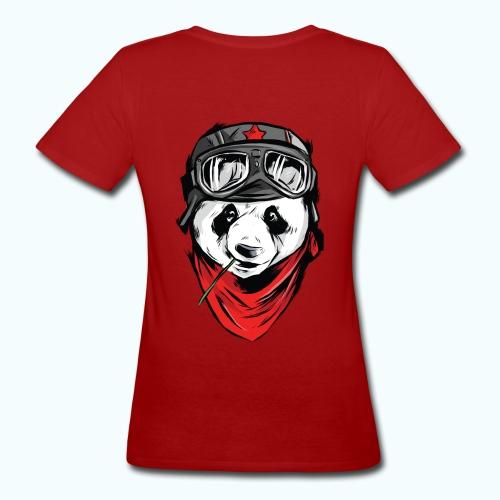 Panda pilot - Women's Organic T-Shirt