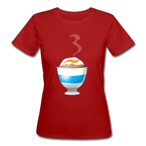 Boiled Egg - Women's Organic T-Shirt