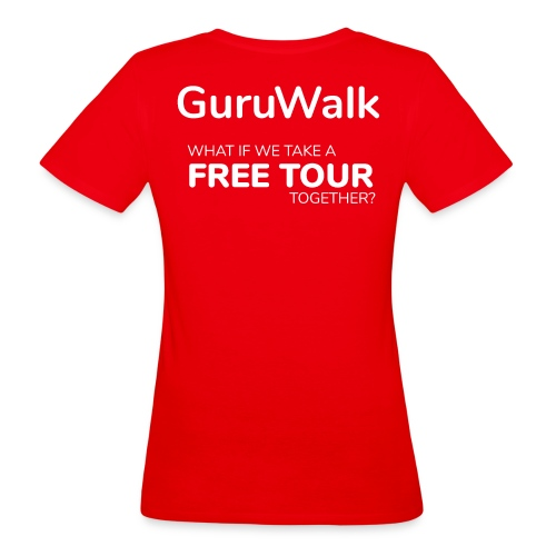 What If We Take a Free Tour Together? - Camiseta ecológica mujer