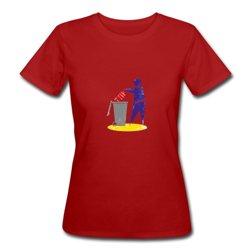 EntsorgenTTIP_03-1-copy - Frauen Bio-T-Shirt