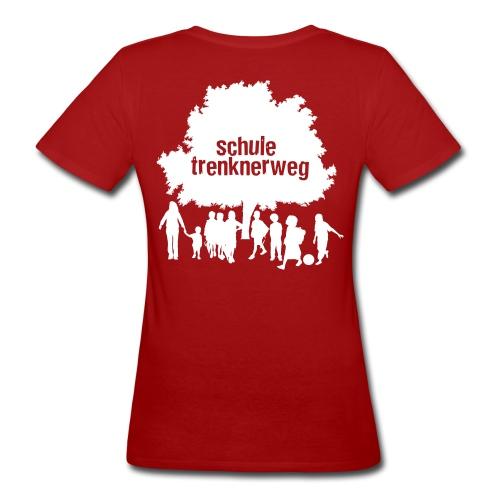 logo trenknerweg sw 2 - Frauen Bio-T-Shirt