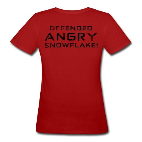 Black Negant logo + OFFENDED ANGRY SNOWFLAKE! - Organic damer
