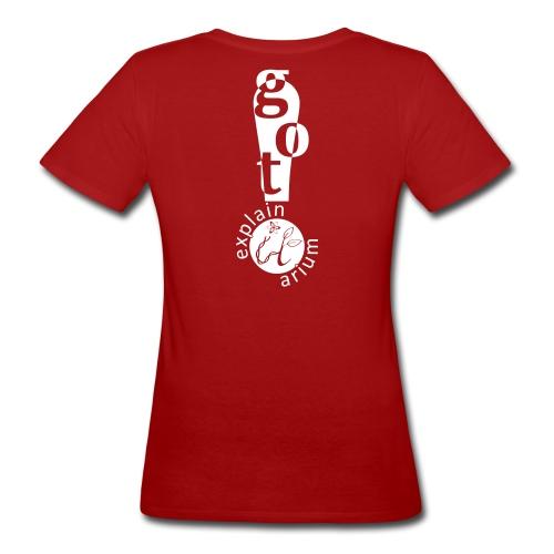 EiA-Got It!- black - Frauen Bio-T-Shirt