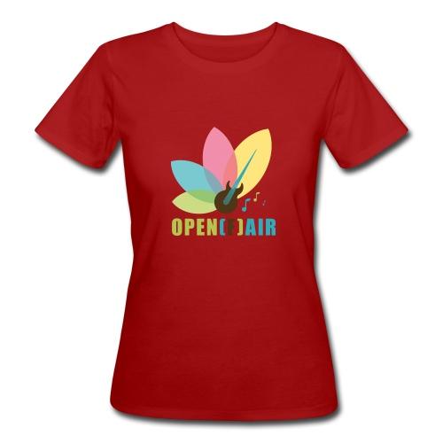 Hochkant Logo - Frauen Bio-T-Shirt