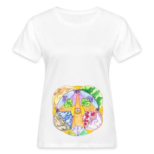 Creativity Focus sfondo trasparente gif - T-shirt ecologica da donna