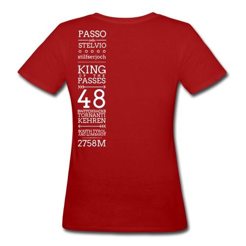 KING - T-shirt ecologica da donna