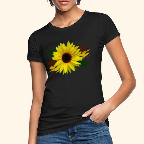 Sonnenblume, Sonnenblumen, Blume, floral, blumig - Frauen Bio-T-Shirt