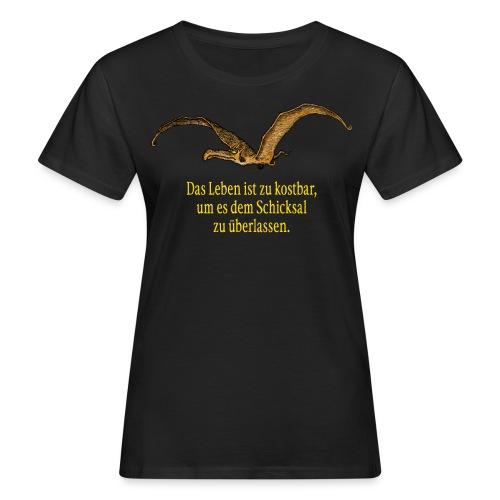 Das Leben ist zu kostbar - Frauen Bio-T-Shirt