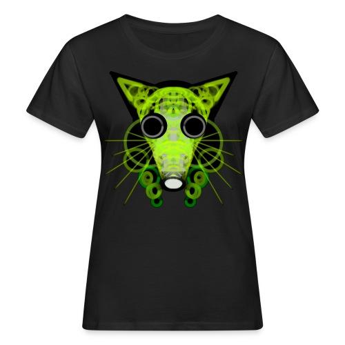 strange head of a rat in punk style - Women's Organic T-Shirt
