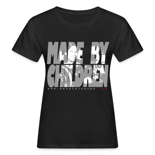 motif tshirtdcata2 - T-shirt bio Femme
