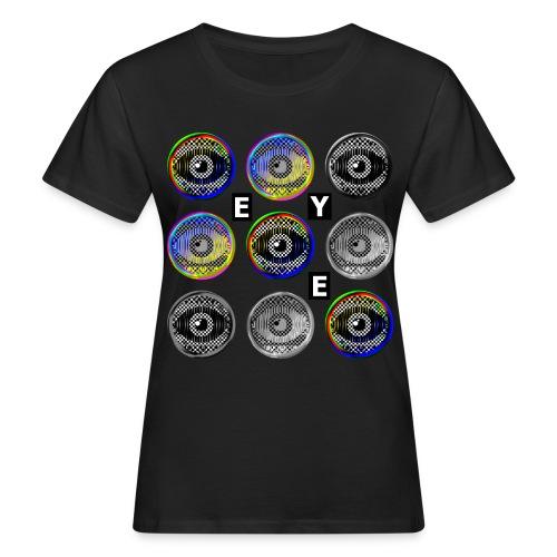 pop art eyes - Women's Organic T-Shirt