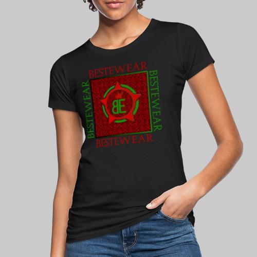#Bestewear - Royal Line (Green/Red) - Frauen Bio-T-Shirt