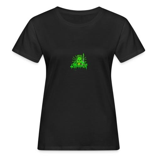 GFSkullOnlyColorShirt - Women's Organic T-Shirt