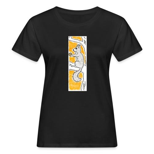 scoiattolo_alma_2015 - T-shirt ecologica da donna