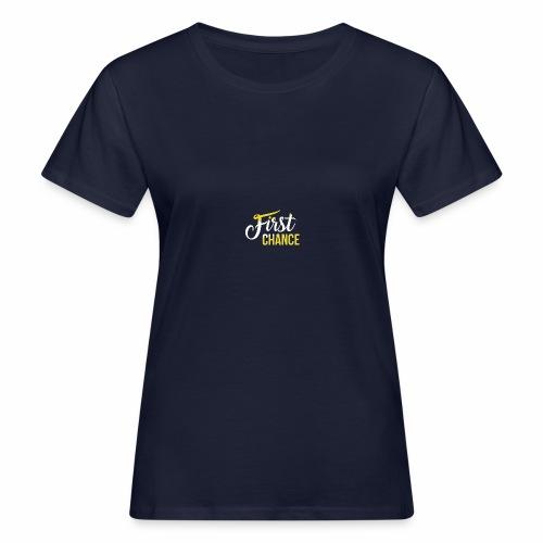 Logo Album First Chance - T-shirt bio Femme