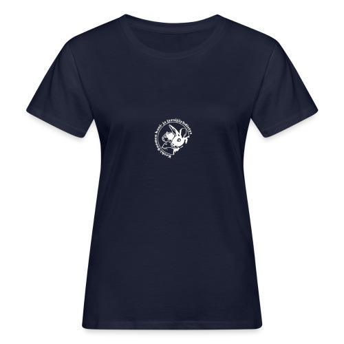 KSKJY logo- Valko-musta - Naisten luonnonmukainen t-paita