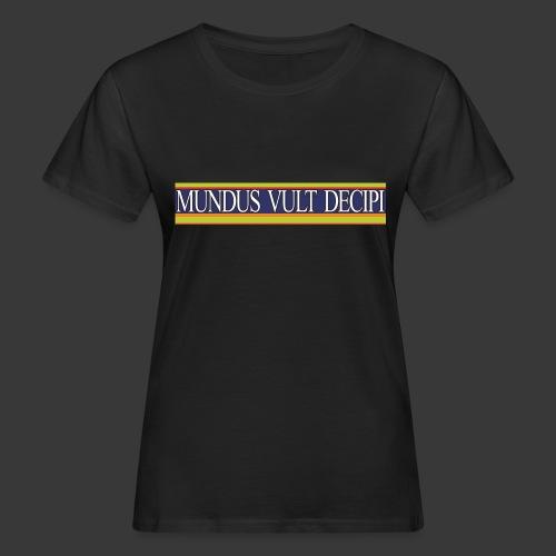 mvd - T-shirt bio Femme