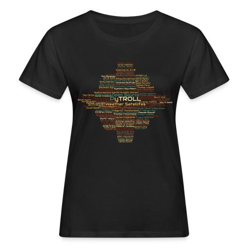 Pytroll wordcloud march 2019 - Women's Organic T-Shirt