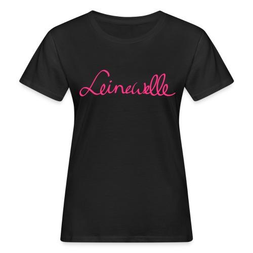 leinewelle Logo - Frauen Bio-T-Shirt